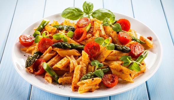 Die vegetarisch-vegane Küche bietet eine Vielzahl an Möglichkeiten