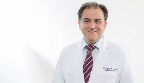 Dr. med. Reza Ghotbi - Chefarzt und Spezialist für Gefäßchirurgie