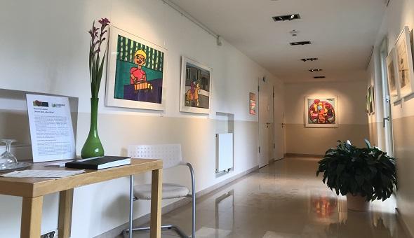Kunstgang in der DKV-Residenz Bremen