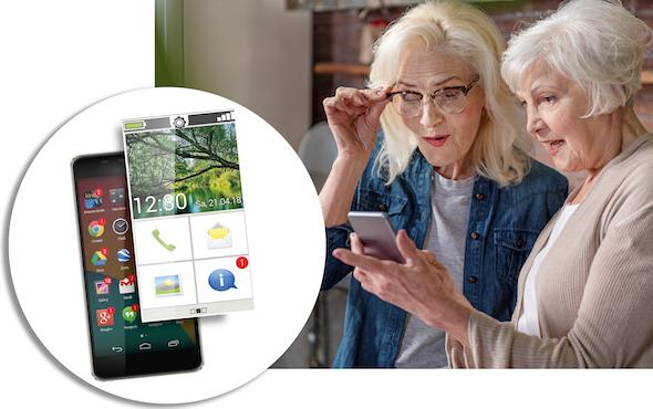 Kommunikation leicht gemacht: mit der Einfach-App von Emporia.