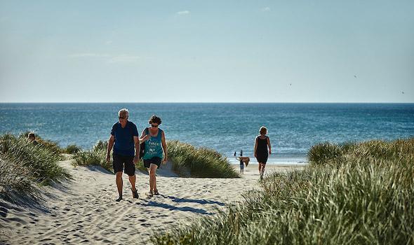 """Campingplatz """"Henne Strand Camping"""" in Dänemark"""