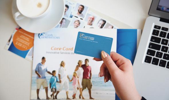 Die Care Card bündelt die für das Alter wichtigsten Assistance-Leistungen in nur einer Karte.