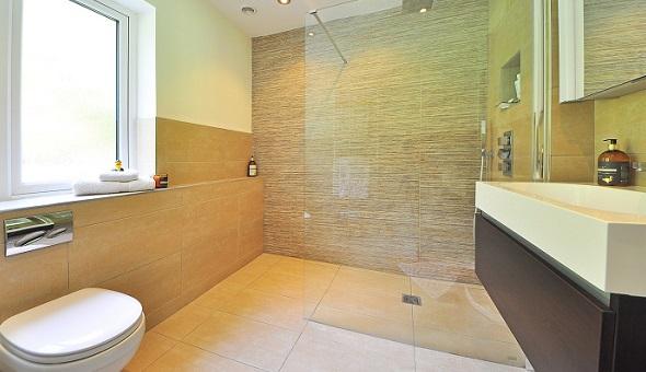 freie Dusche